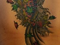 Татуировка рыба
