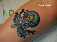 Татуировка осьминог