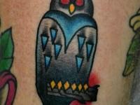 Татуировка филин