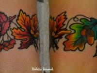 Татуировки на руку в осенней тематике