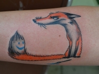 Татуировка Хитрый Лис