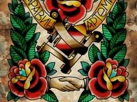 Татуировка розы