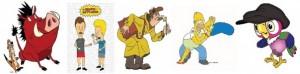 Акция от мастера Виолетты. Персонажи и сюжеты мультфильмов по стоимости 1000 рублей в час!!!