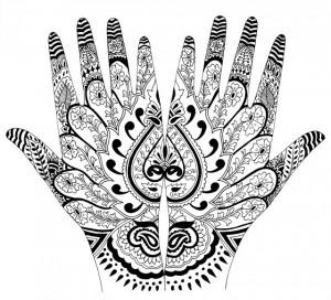 татуировка тату-студия Маруха орнаменты индийские узоры