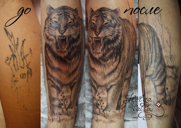 cover up исправление некачественных татуировок