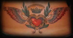 олдскул, татуировка, сердце, студия, Маруха