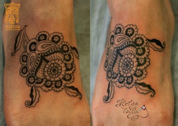 менди индийские узоры татуировка тату салон татуировщики тату мастер  тату студия Maruha