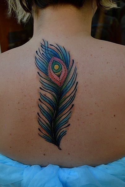 Татуировка выполнена на спине. По индивидуальному эскизу от Виолетты Доморад. Время работы - около 2х часов.