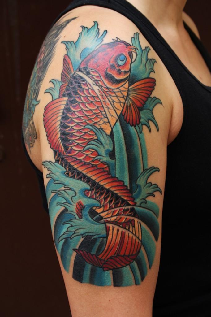 Koi карп, рыба