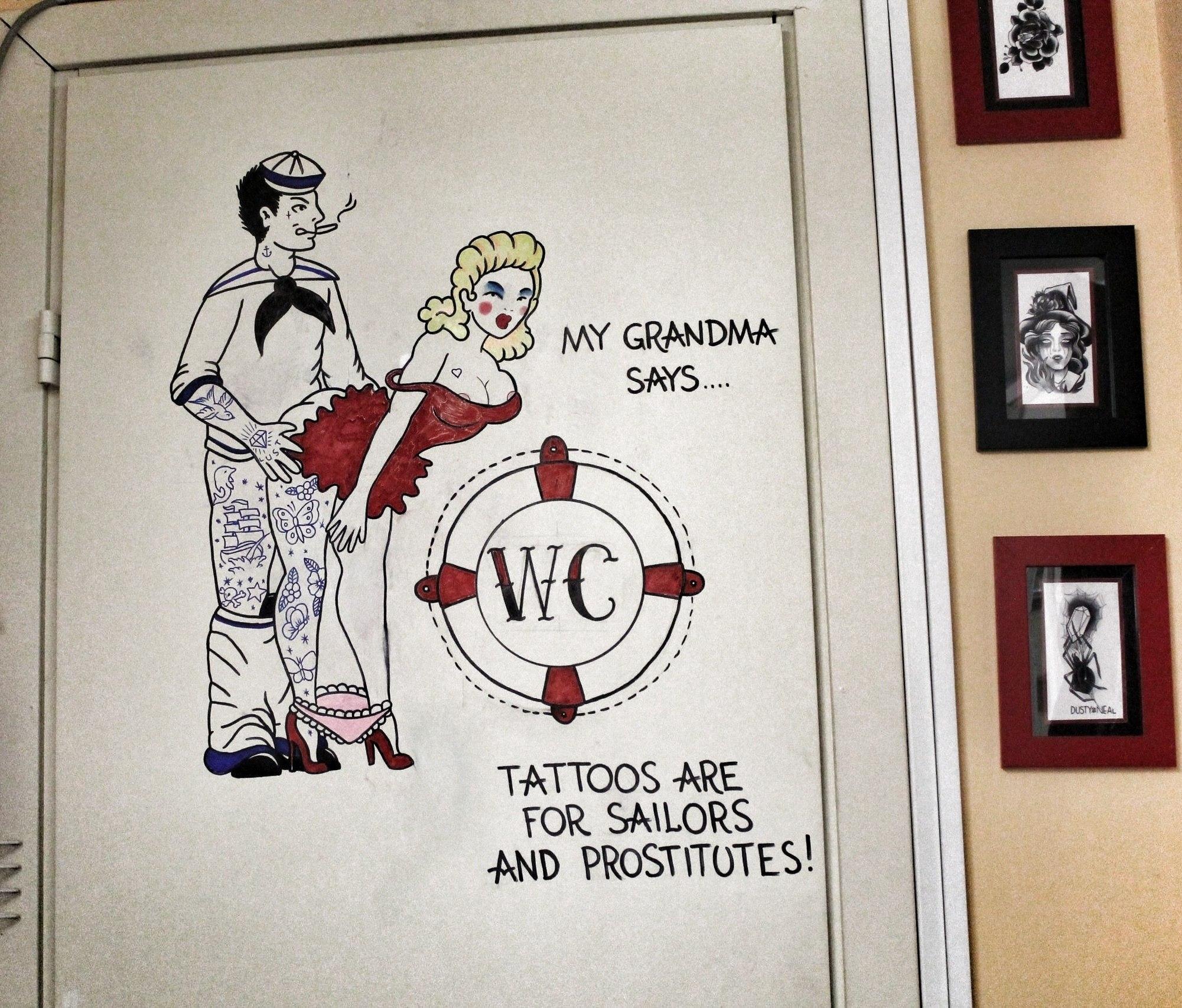 Татуировки для проституток 7 фотография