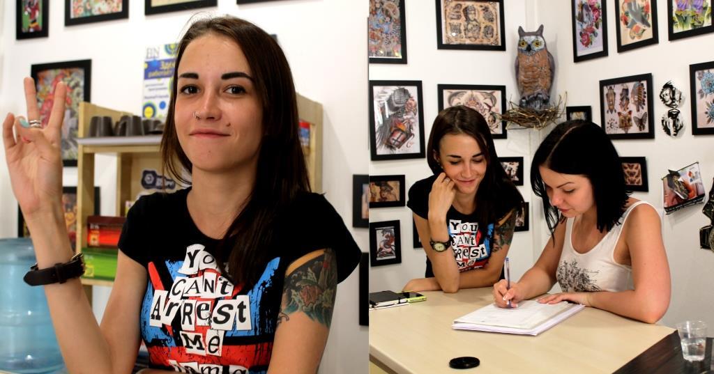 Новый администратор Марина, стажируется в студии на Гороховой 53! Приходите в гости!)
