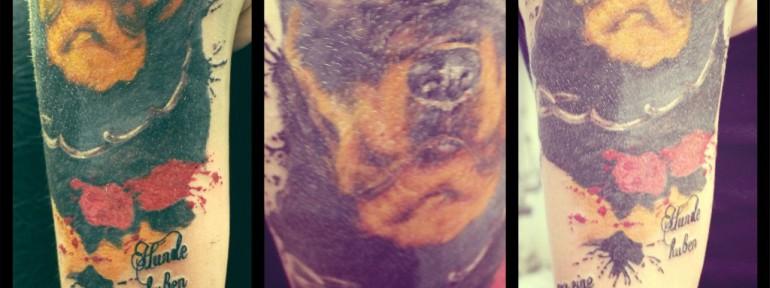 Татуировка Ротвейлер от Алексии.