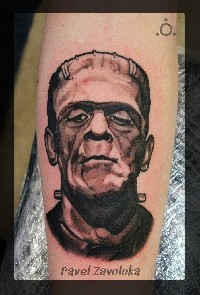 Старый добрый Frankenstein от мастера Павла Заволоки.