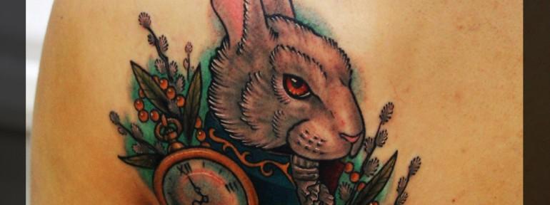 Кролик от мастера Павла Заволоки.