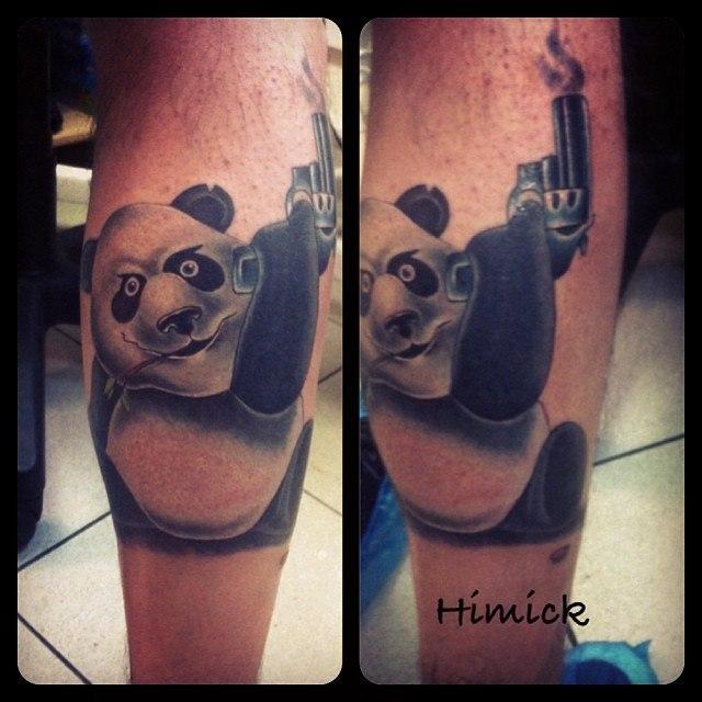 Панда от Евгения Булгакова.