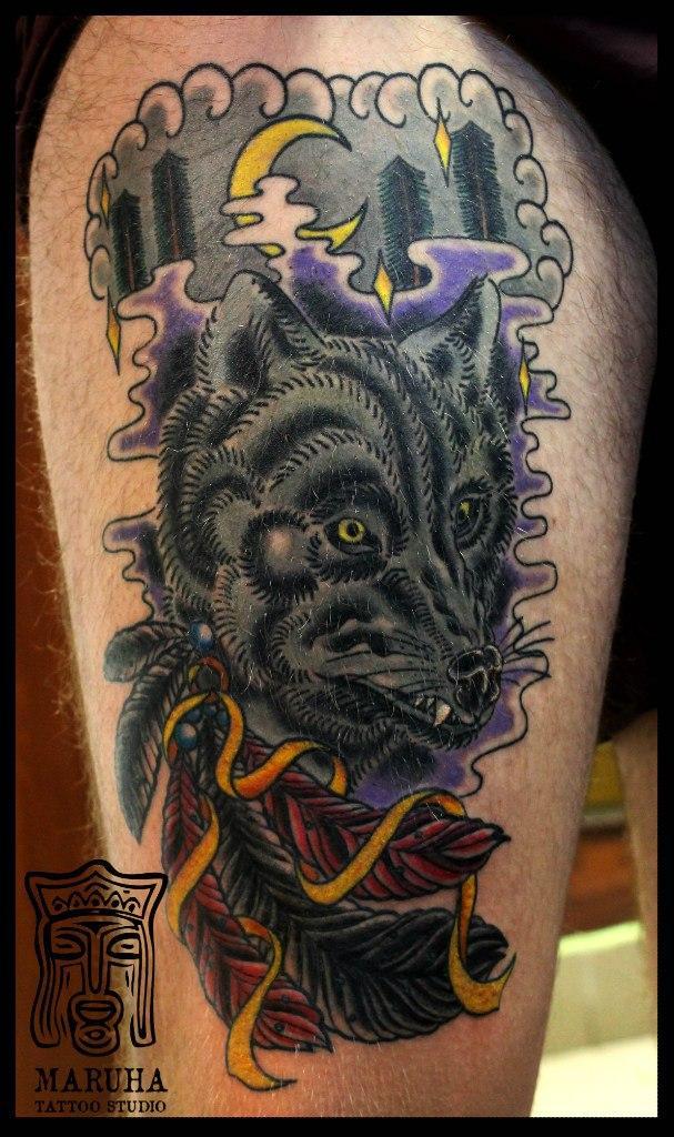 Что означает изображение росомахи в тату — смысл татуировки росомаха