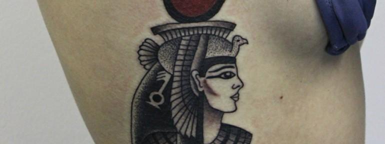 Художественная татуировка «Хаткор». Мастер Алиса Чекед.