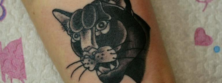 Татуировка Пантера, Виолетта Доморад.