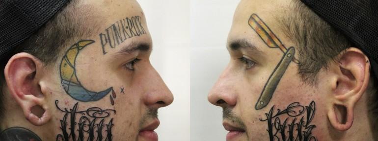 Художественная татуировка «Stay True» от Валеры Моргунова.