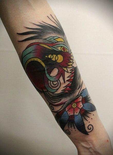 Художественная татуировка «Череп» от Вовы Snoop'a