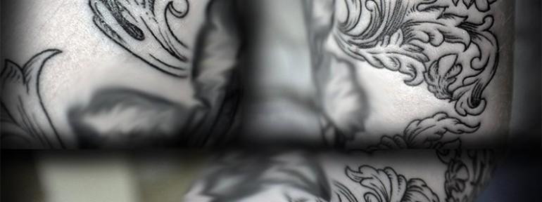 Художественная татуировка «Барокко» от Юрия Полякова