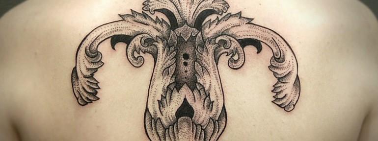 Художественная татуировка «Узоры» от Инессы Кефир