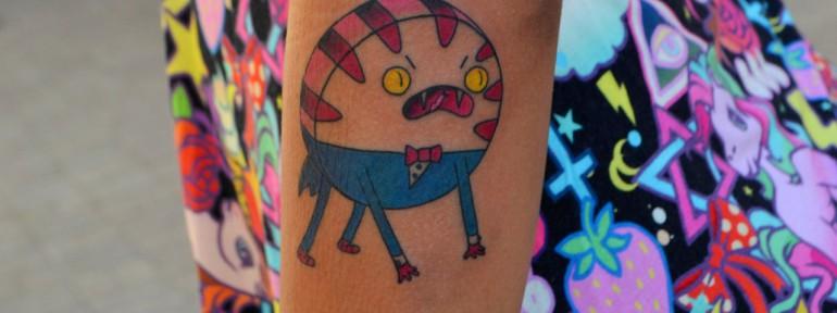 Мастер Виолетта Доморад. Татуировка «Мятный лакей».