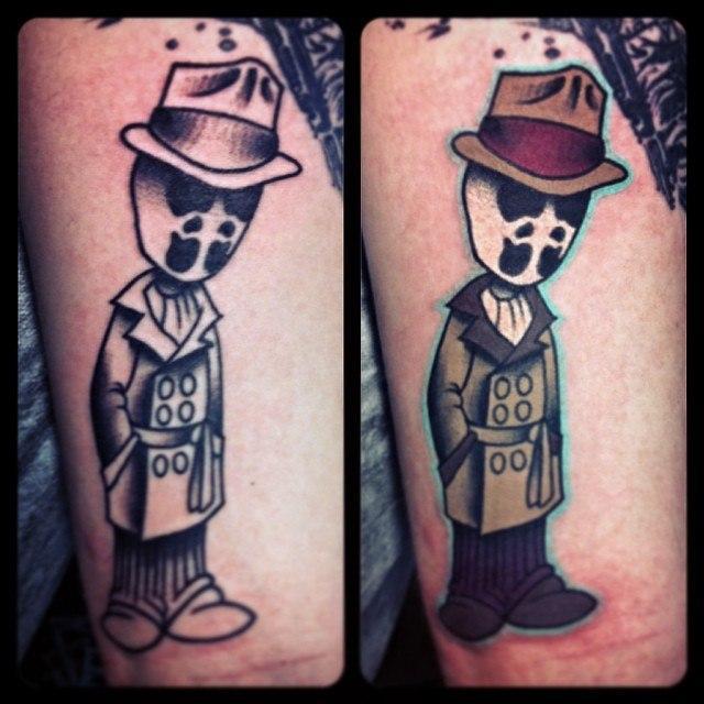 Художественная татуировка «Роршах» от Валеры Моргунова
