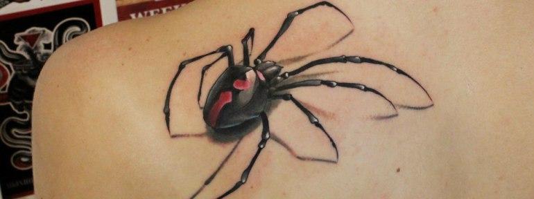 Значение татуировки паука на теле — что может означать наколка с пауком?