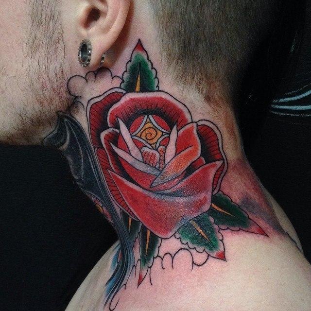 Перекрытие старой татуировки от Данилы-Мастера