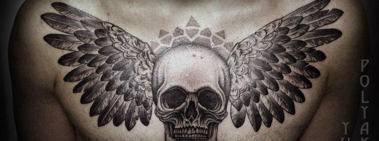 Фото татуировок череп — стоит ли наносить тату с черепом, и кому?