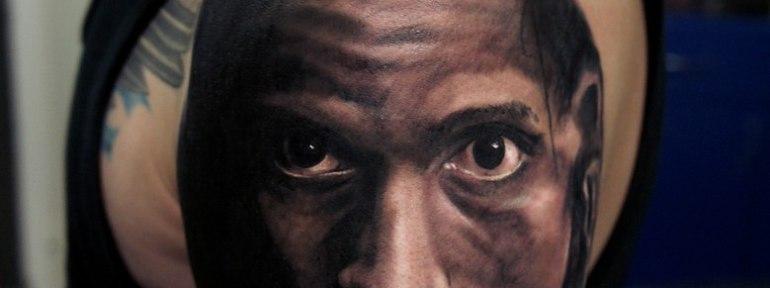 Художественная татуировка «Апокалипсис» от Александра Морозова