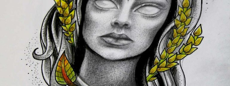 Свободный эскиз «Ведьма» от Ксении Jokris Соколовой.