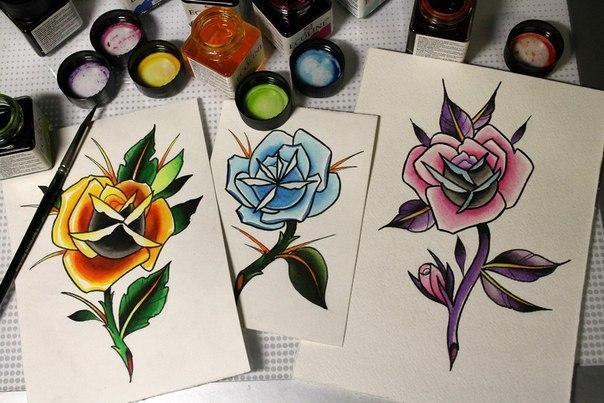 «Розы» от Нияза Фахриева.