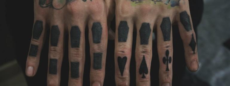 Перекрытие старых татуировок от Валеры Моргунова