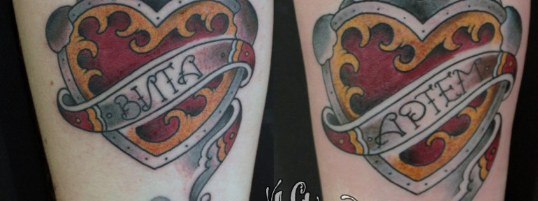 Парная татуировка «Мишки» от Данилы-Мастера