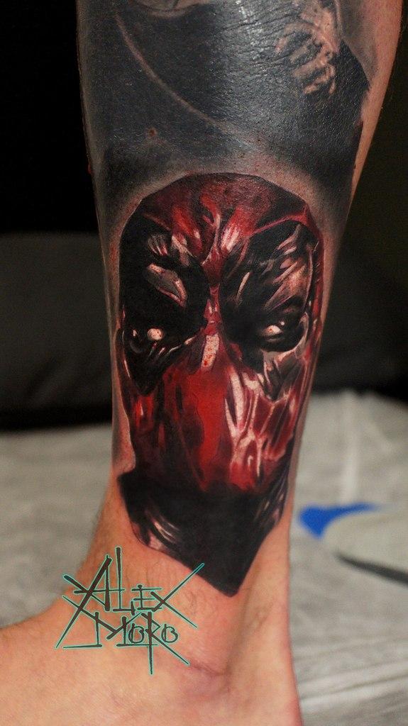 Deadpool в исполнении Александра Морозова.
