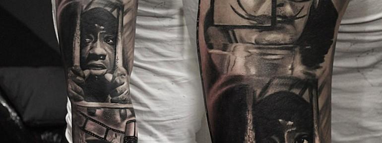 Портретный рукав от Александра Морозова.