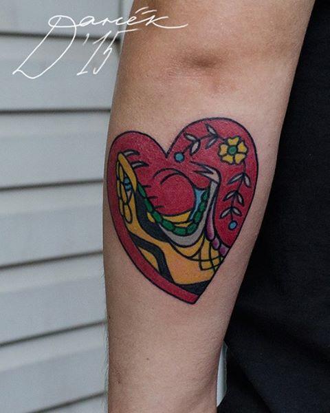 Татуировка «Змея». Мастер Данил Костарев.