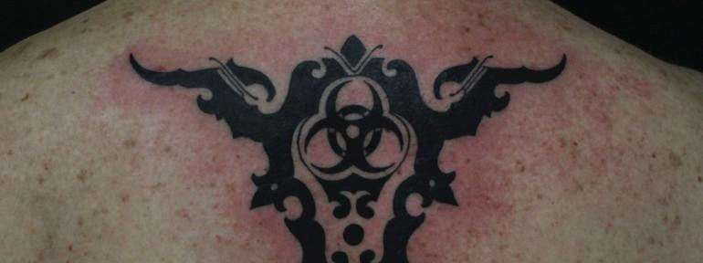 Художественная татуировка «Маори» от Данилы-Мастера