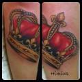 Художественная татуировка «Корона» от Евгения Химика.