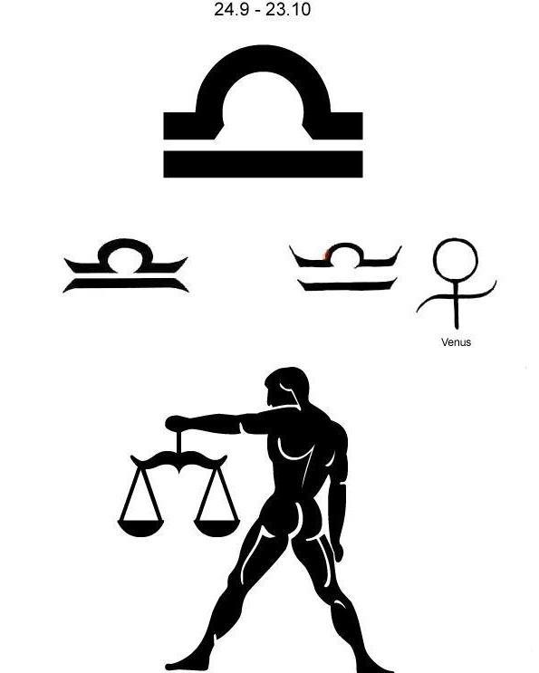 знак зодиака весы картинки тату