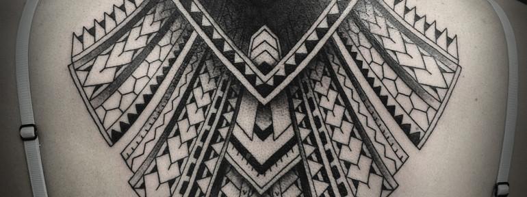 Художественная татуировка «Орнамент» от Юрия Полякова