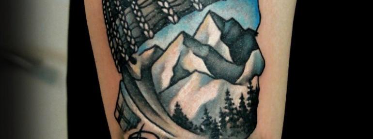 Художественная татуировка «Ride or Die». Мастер — Анна Корь