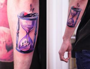 Что означает тату часы и кому подойдет татуировка с часами — песочными, наручными, будильником и т.д.