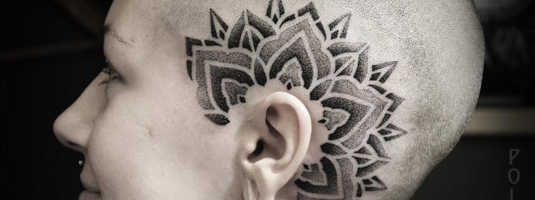 Художественная татуировка от Юрия Полякова.