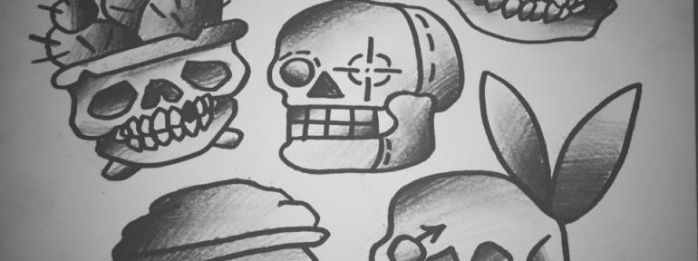 Свободные «Черепочки» от мастера художественной татуировки Ильи Берёзкина