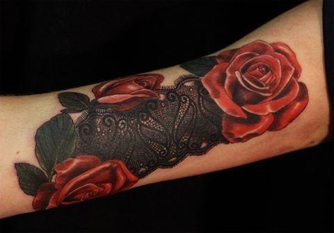 Художественная татуировка » Перекрытие » от Дмитрия Поликарпова