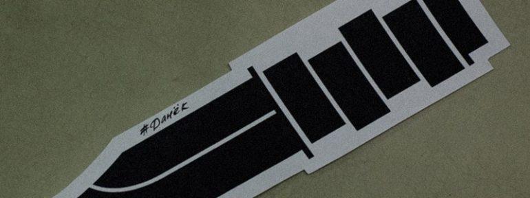 Свободный эскиз «Black Flag».  Мастар Даня Костарев