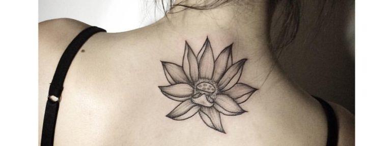 Художественная татуировка «Лотос». Мастер- Лилия
